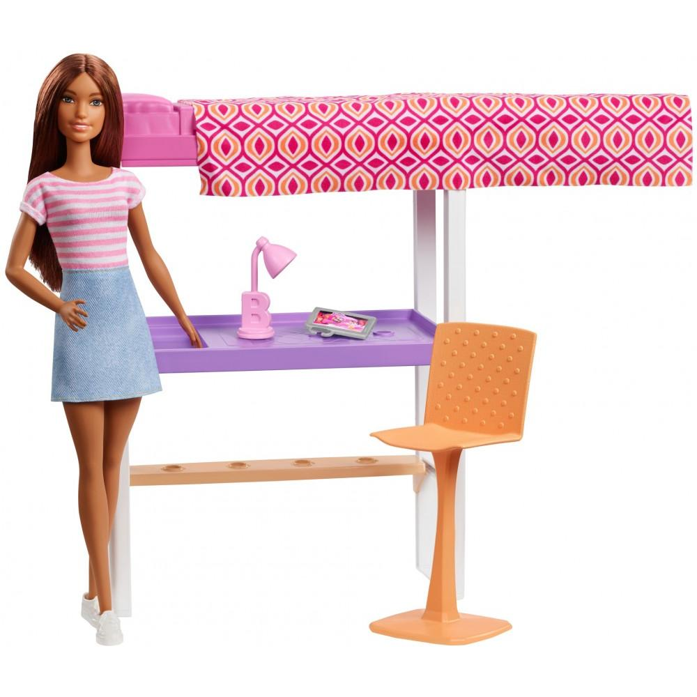 Barbie Doll & Loft Bed Accessory