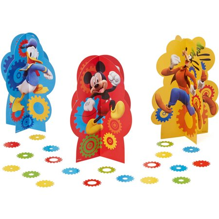 Mickey Mouse Clubhouse Table Decorations, Party Supplies