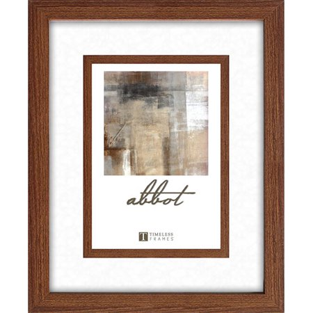 Timeless Decor Abbot Walnut Picture Frame, 8 x 10 to 11 x 14 Inches
