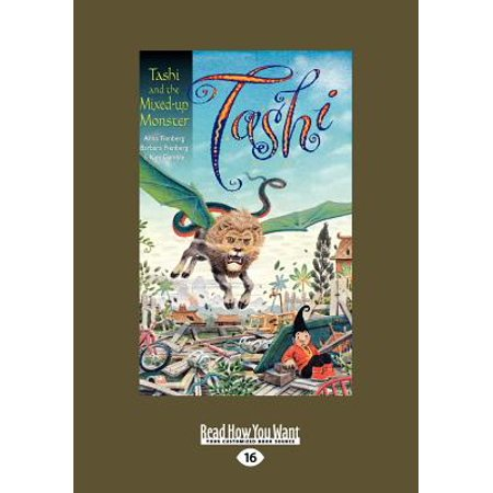 Tashi And The Mixed Up Monster  Large Print 16Pt