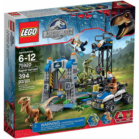 Lego Jurassic World Raptor Escape Play Set Walmartcom