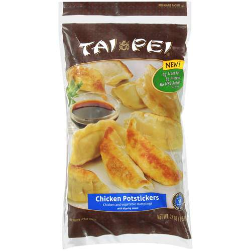 Tai Pei Chicken Potstickers With Dipping Sauce, 24 oz