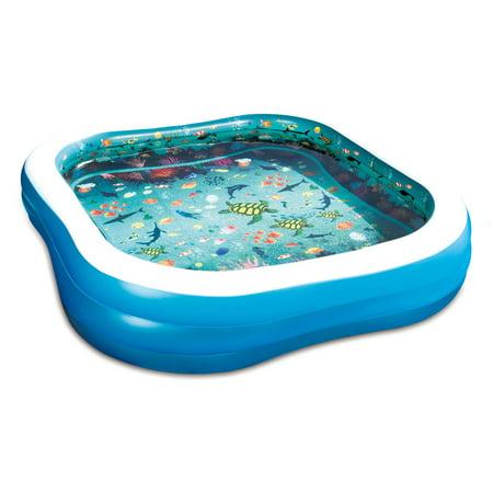 3D Family Pool