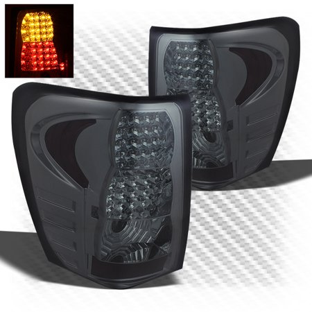 for 1999-2004 grand cherokee smk led perform tail lights rear brake lamps replace pair left+right 2000 2001 2002 2003