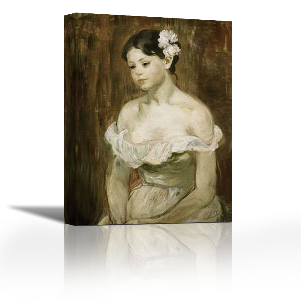 Nude naked young girl fine art painting