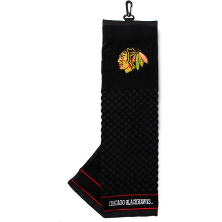 Team Golf NHL Chicago Blackhawks Embroidered Golf Towel