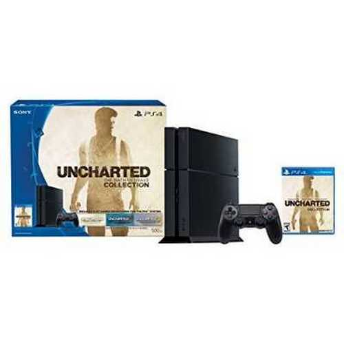 Sony Uncharted: The Nathan Drake Collection PlayStation 4 Bundle (Physical Disc)