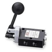 ARO E212LM Manual Air Control Valve, 4-Way, 1/4in NPT