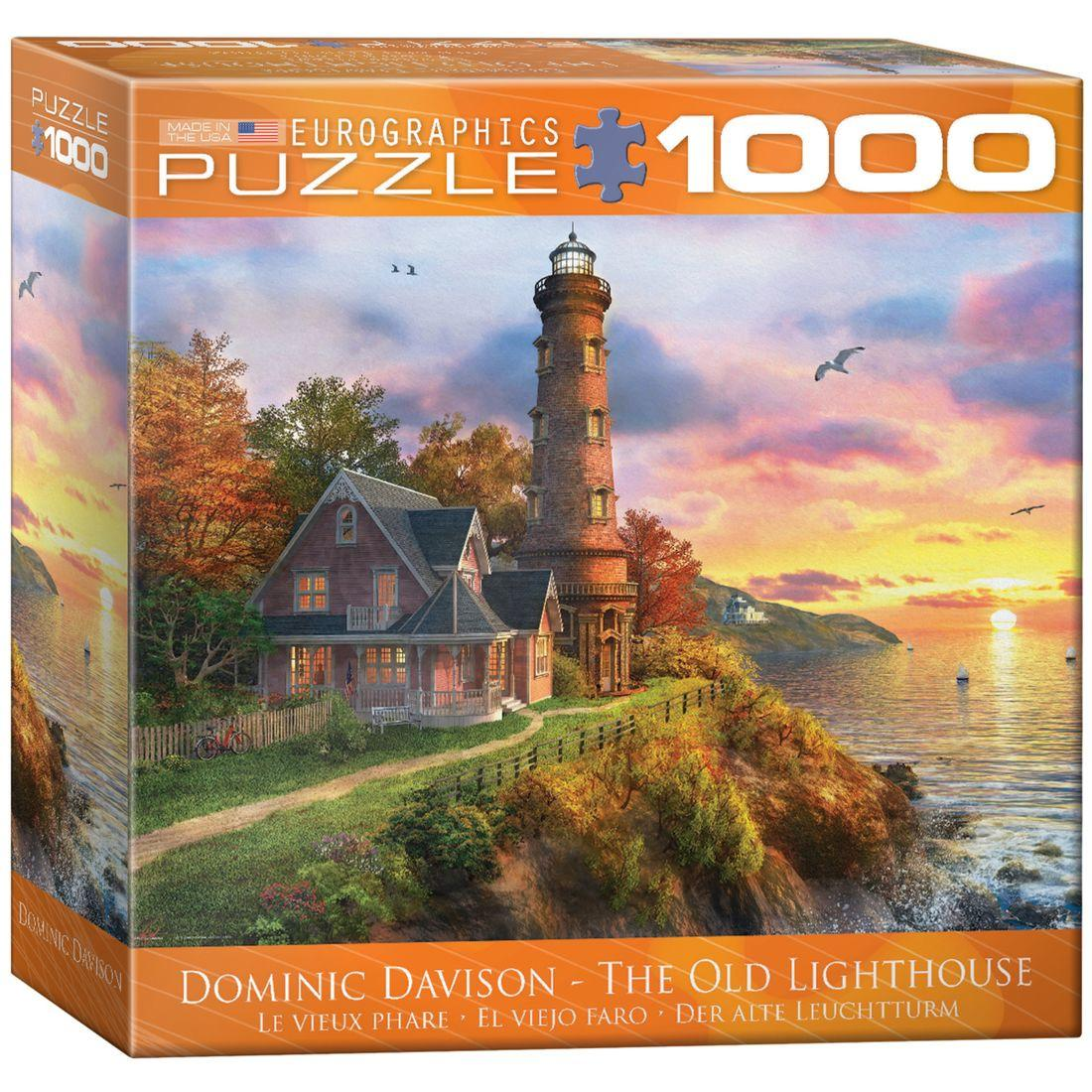 The Old Lighthouse by Dominic Davison 1000 Piece Puzzle J...