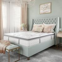 Modern Sleep Mercer Pillow-Top Cool Gel Memory Foam and Innerspring Hybrid 12-Inch Mattress, Multiple Sizes