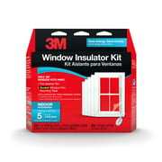 3M Indoor Window Insulator Kit, 5 Window Kit