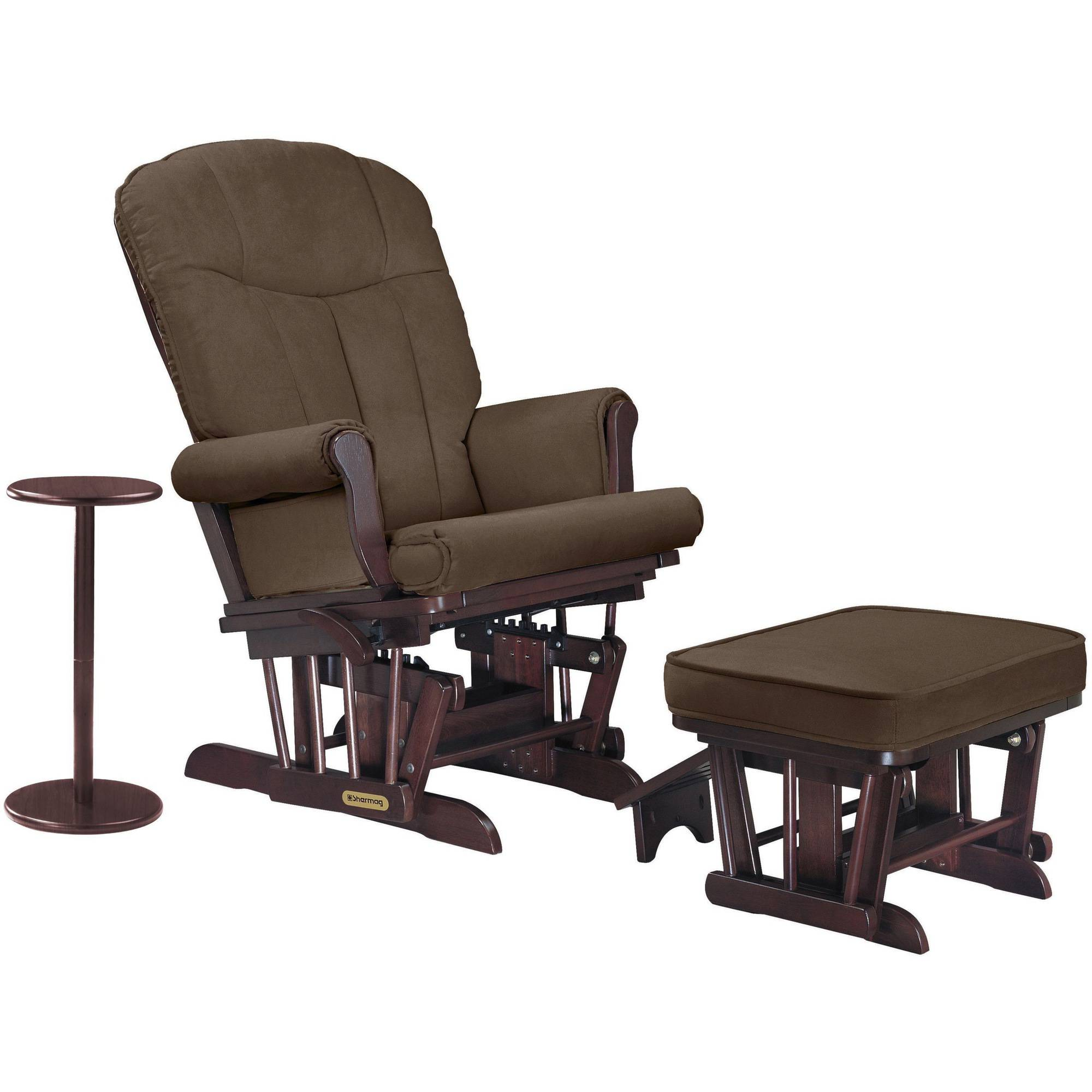 SherMag Sleigh Glider and Ottoman by Shermag