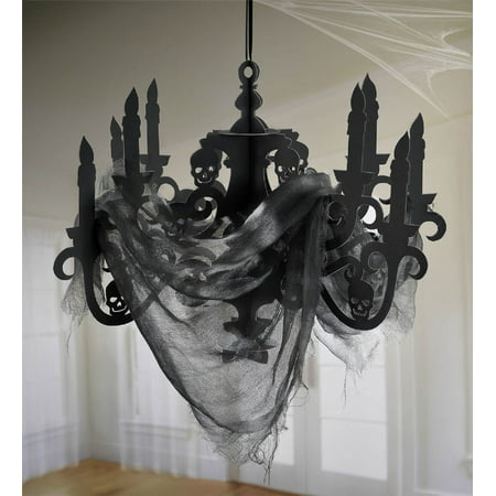 Spooky Halloween Decorating Ideas (Spooky Hanging Candelabra Halloween)