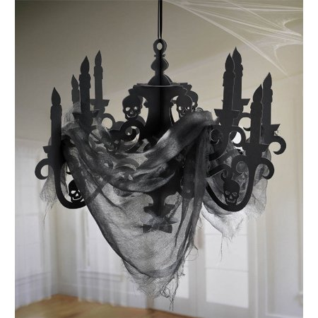 Spooky Hanging Candelabra Halloween Decoration