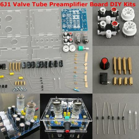 6J1 Valve Tube Preamplifier Board Bass on 6J1 HiFi Amplifier