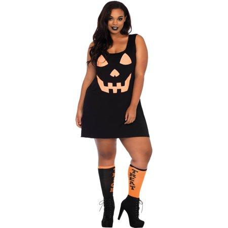 Leg Avenue Womens Plus Size Pumpkin - Pumpkin Dress