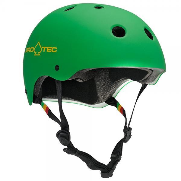 Pro-Tec Classic Helmet MD Matte Rasta Green by Protec