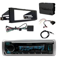 Kenwood Marine Bluetooth Radio, iDataLink Harley Wiring Kit, Dash Kit, Antenna