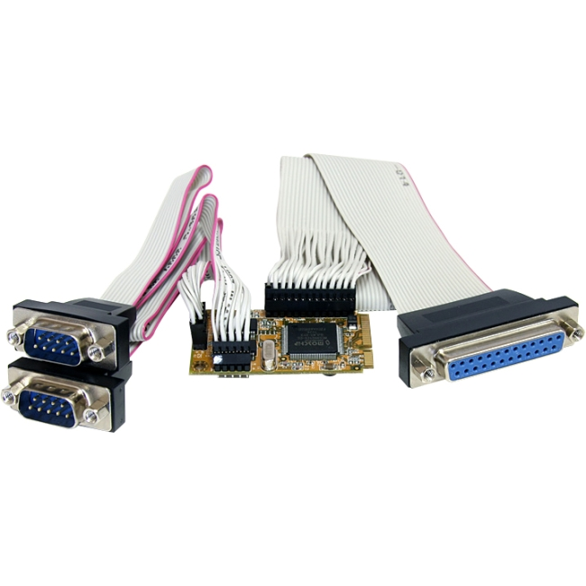 Startech 2S1P Serial Parallel Combo Mini PCI Express Card for Embedded Systems