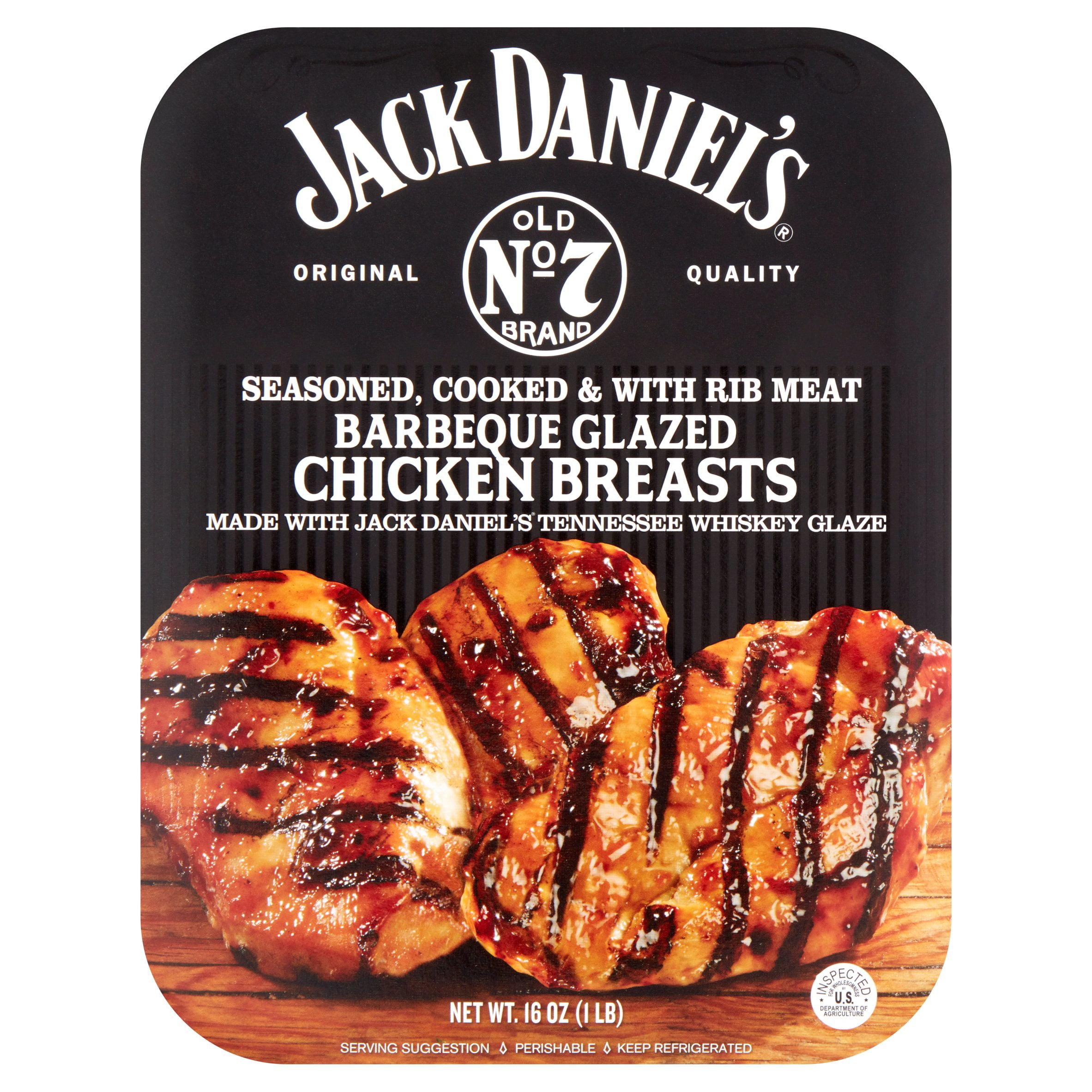 Jack Daniel's Old No 7 Brand Barbeque Glazed Chicken Breasts, 16 oz