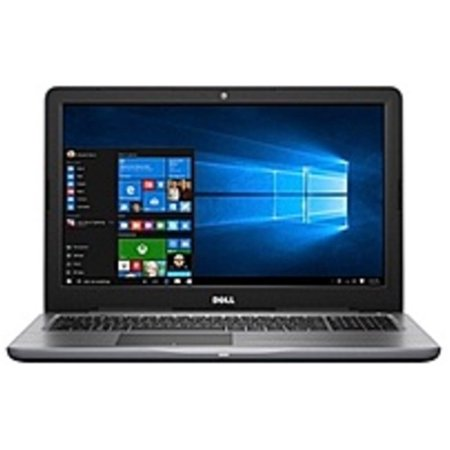 Refurbished Dell Inspiron 15 5000 Series I5567-7161GRY Laptop PC - Intel Core i7-7500U 2.7 GHz Dual-Core Processor - 12 GB DDR4 SDRAM - 1 TB Hard Drive - 15.6-inch Display - Windows 10 Home