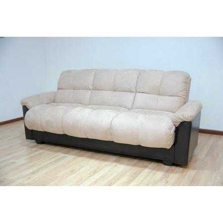 Primo Ara Convertible Futon Sofa Bed With Storage