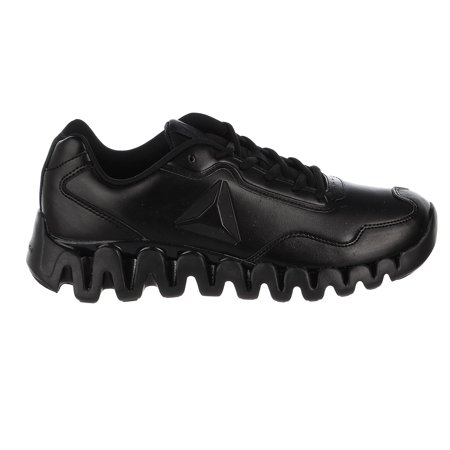 - Reebok Zig Pulse Running Shoe - Black/Black/Matte - Mens - 8