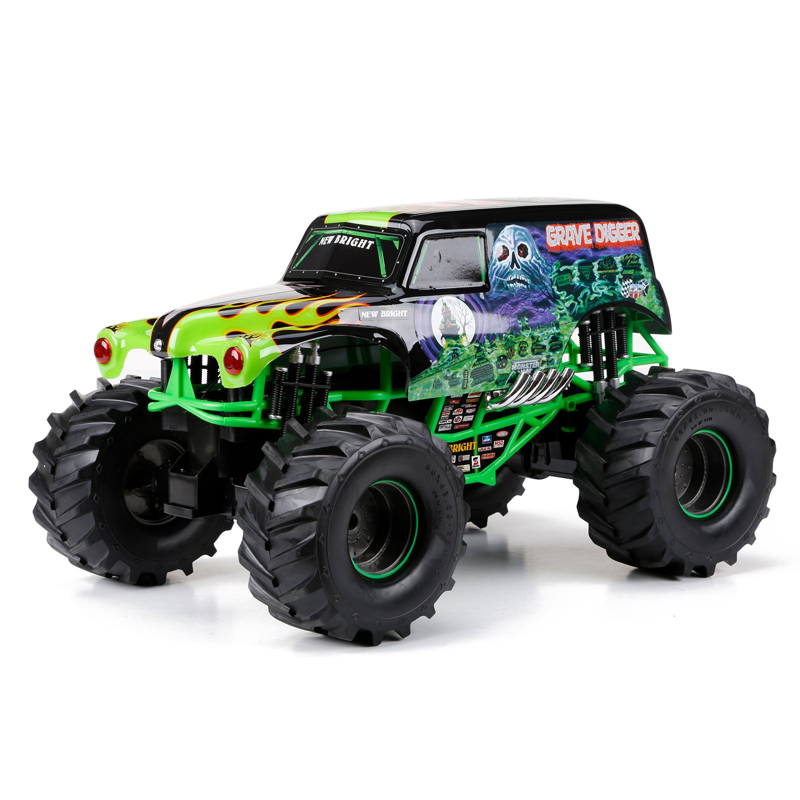 1:10 R C Full Function Monster Jam 9.6V 2.4GHz Grave Digger by Generic