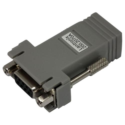 Lantronix DCE Adapter - 1 x RJ-45 Male - 1 x DB-9 Female Serial