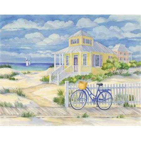 Beach Cruiser Cottage II Poster Print by Paul Brent, 24 x 30 - Large