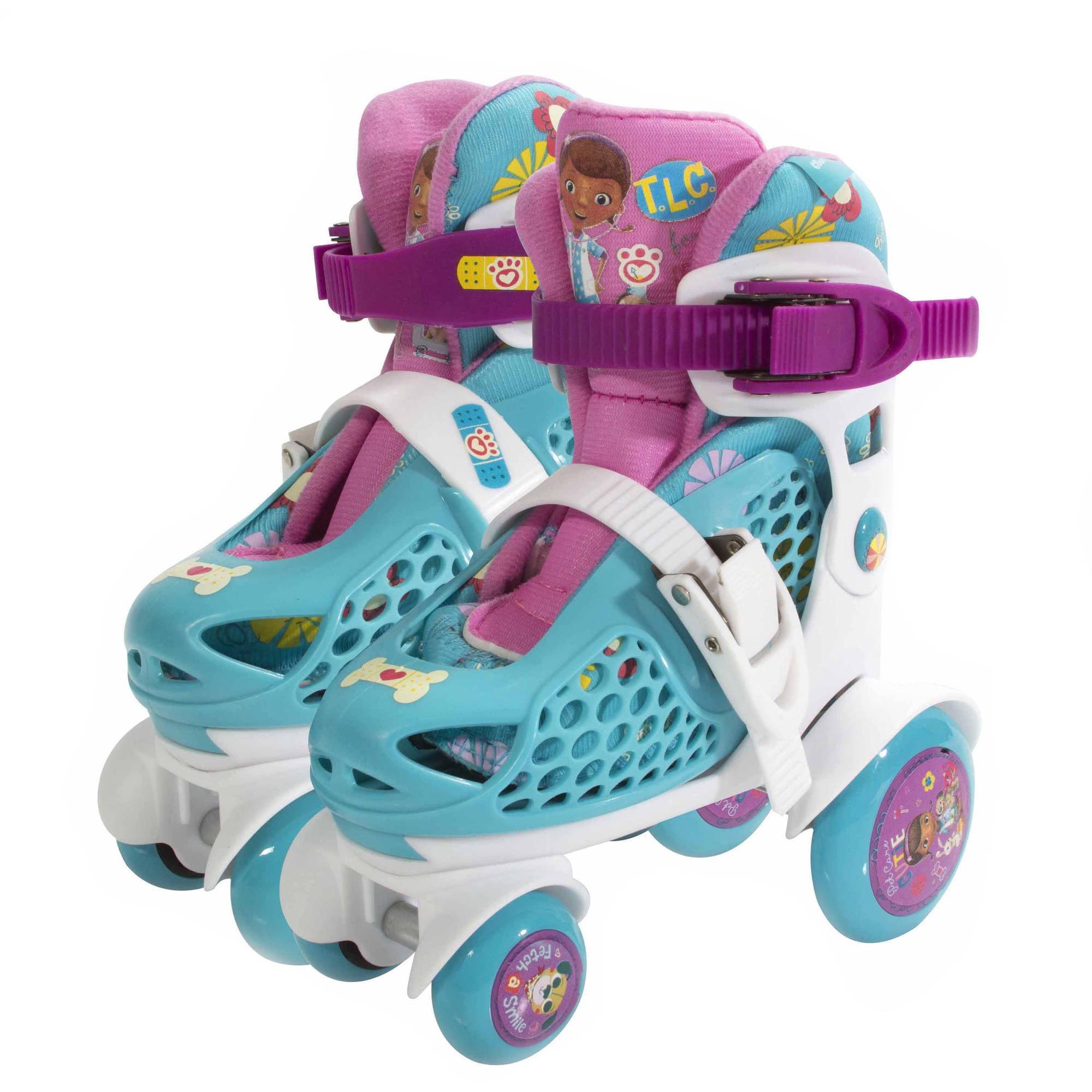 Roller skate shoes walmart - Playwheels Disney Doc Mcstuffins Big Wheel Skate Junior Size 6 9