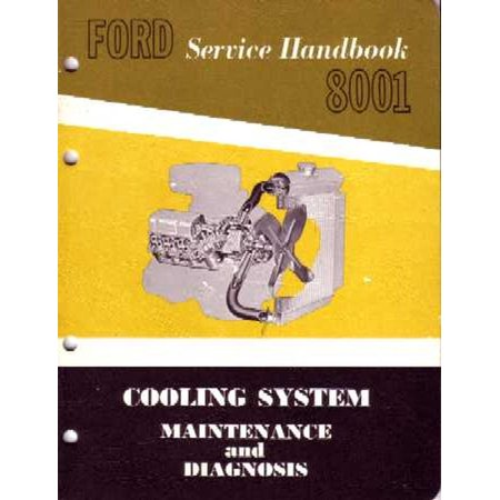 Bishko OEM Repair Maintenance Shop Manual Bound for Ford Car & Truck - Cooling System 1962 - -