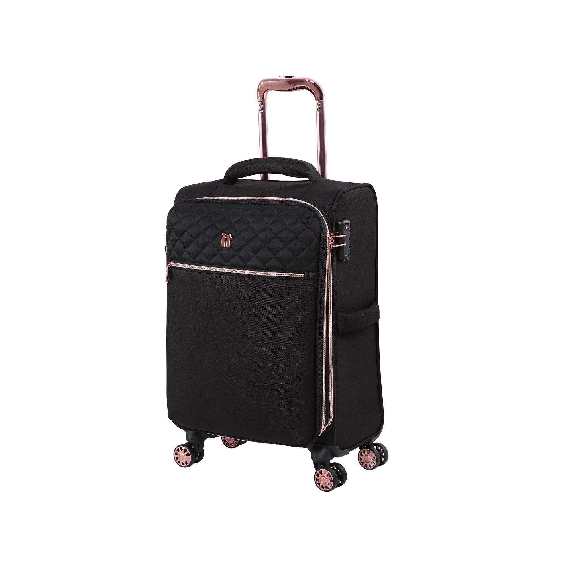70 cm it luggage Divinity 8 Wheel Lightweight Semi Expander Suitcase Medium with TSA Lock Valise