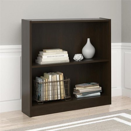Ameriwood Home Hayden 2 Shelf Bookcase in Espresso ()
