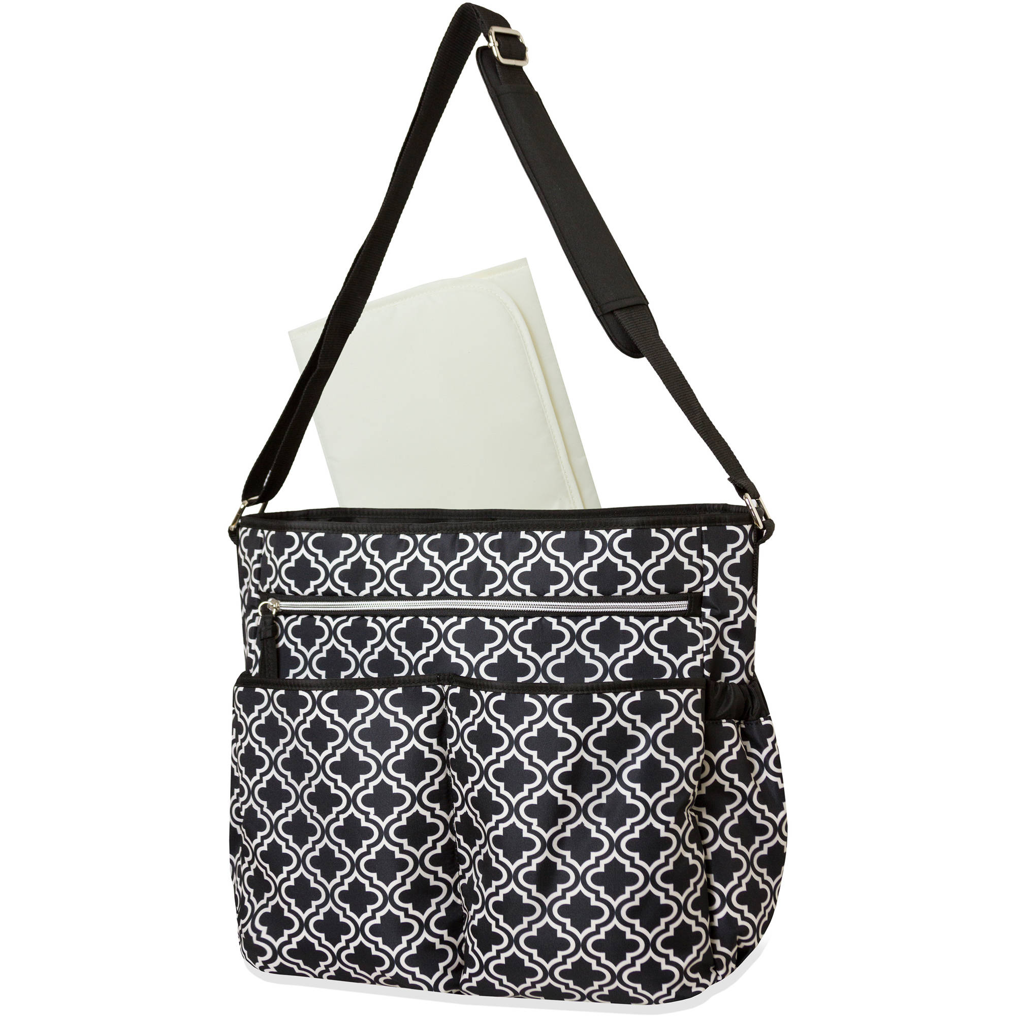 Baby Essentials Geometric Crossbody Diaper Bag