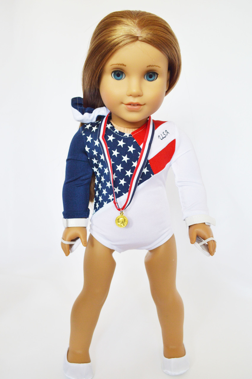 My Brittany's New USA Gymnastics For American Girl Dolls by