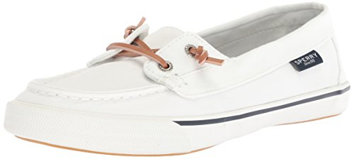Sperry Top-Sider Women's Lounge Away Sneaker, White, 9.5 Medium US