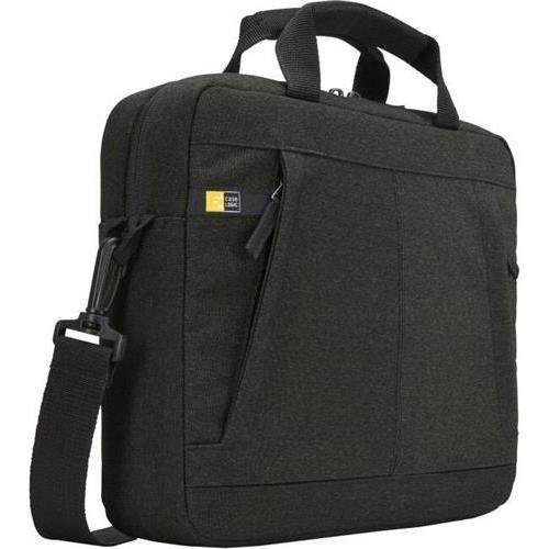 Case Logic HUXA111BLACK Huxton Carrying Case (Attache) for 11.6in Notebook - Black - Luggage Strap, Shoulder Strap, Handle