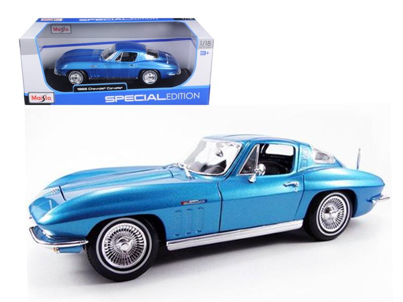 1965 Chevrolet Corvette Blue 1 18 Diecast Model Car by Maisto by Maisto