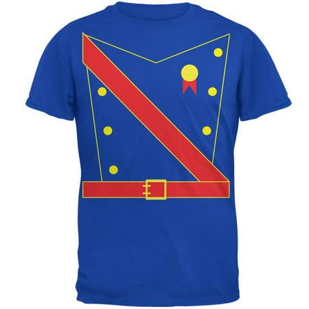 Halloween Prince King Royal Guard Costume Mens Soft T Shirt (Tall And Short Halloween Costumes)