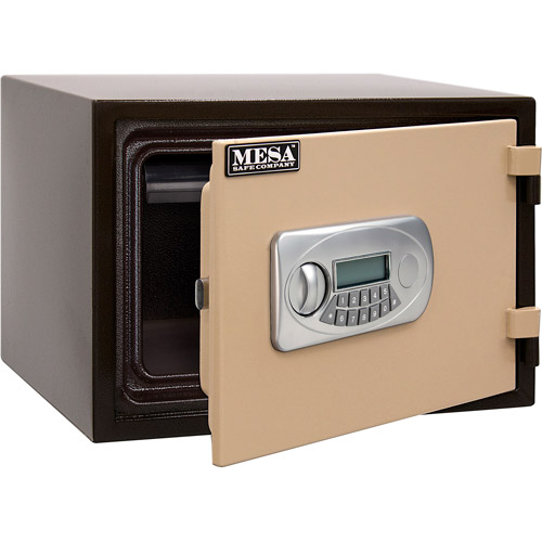 Mesa Safe All-Steel .5 cu ft UL-Classified 1-Hour Fire Safe with Electronic Lock and Interior Drawer, MF35E