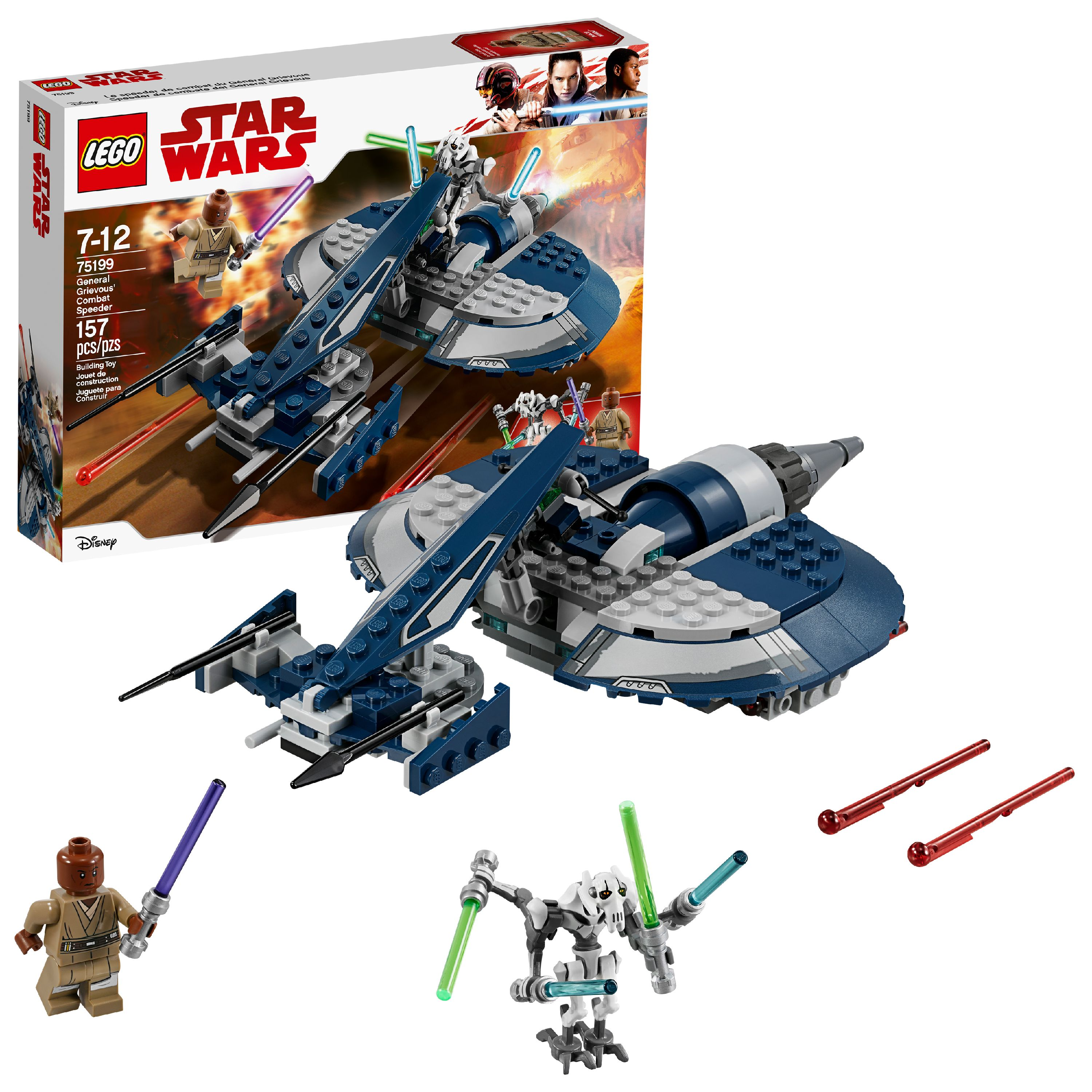 LEGO Star Wars TM General Grievous' Combat Speeder 75199