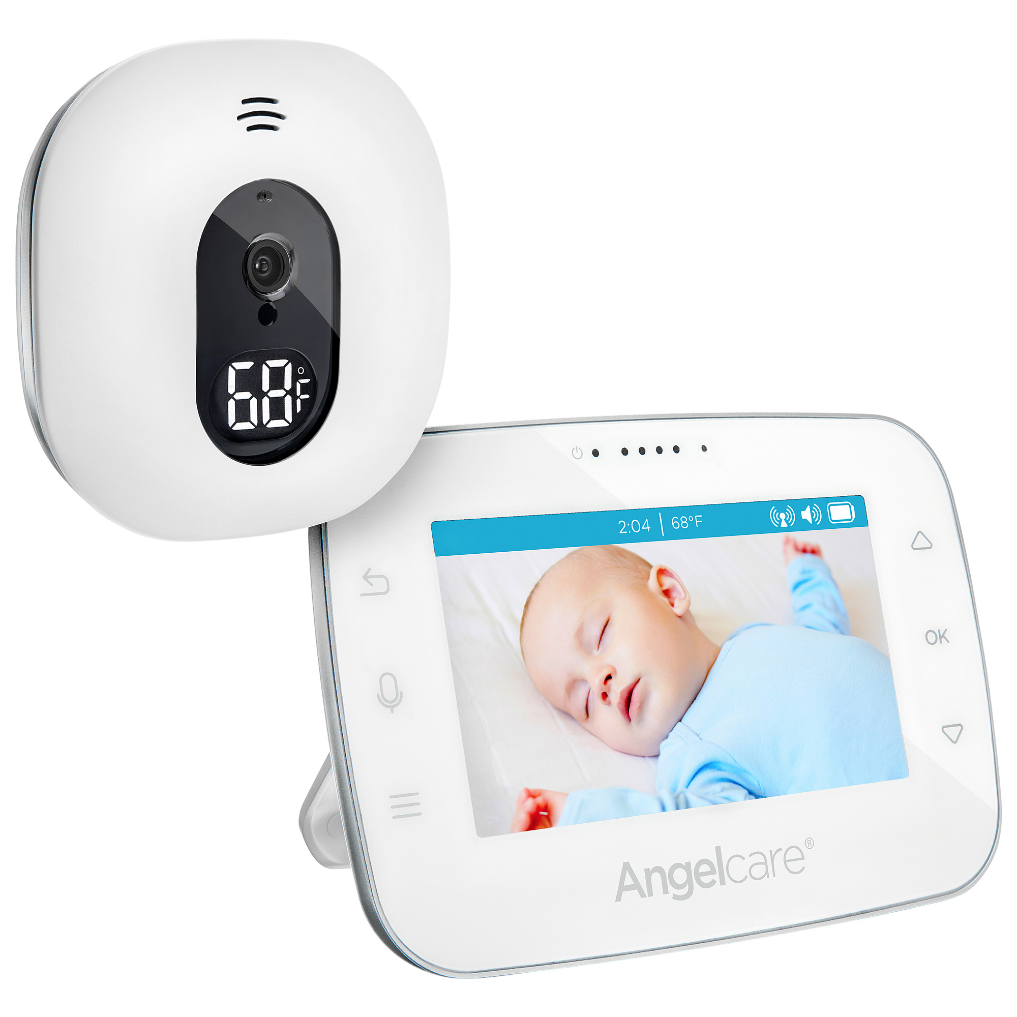 Angelcare AC310, Audio & Movement Baby Monitor, 2-Way Talk