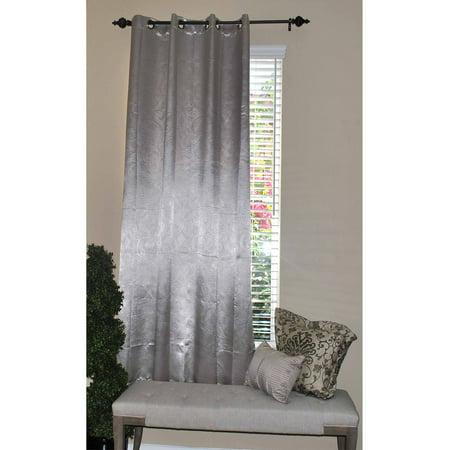 Solar Curtain (Floral Solar Blackout Curtain, Beige )