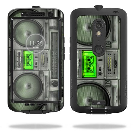 MightySkins Protective Vinyl Skin Decal for LifeProof Motorola Droid Maxx 2 fre case wrap cover sticker skins Boombox