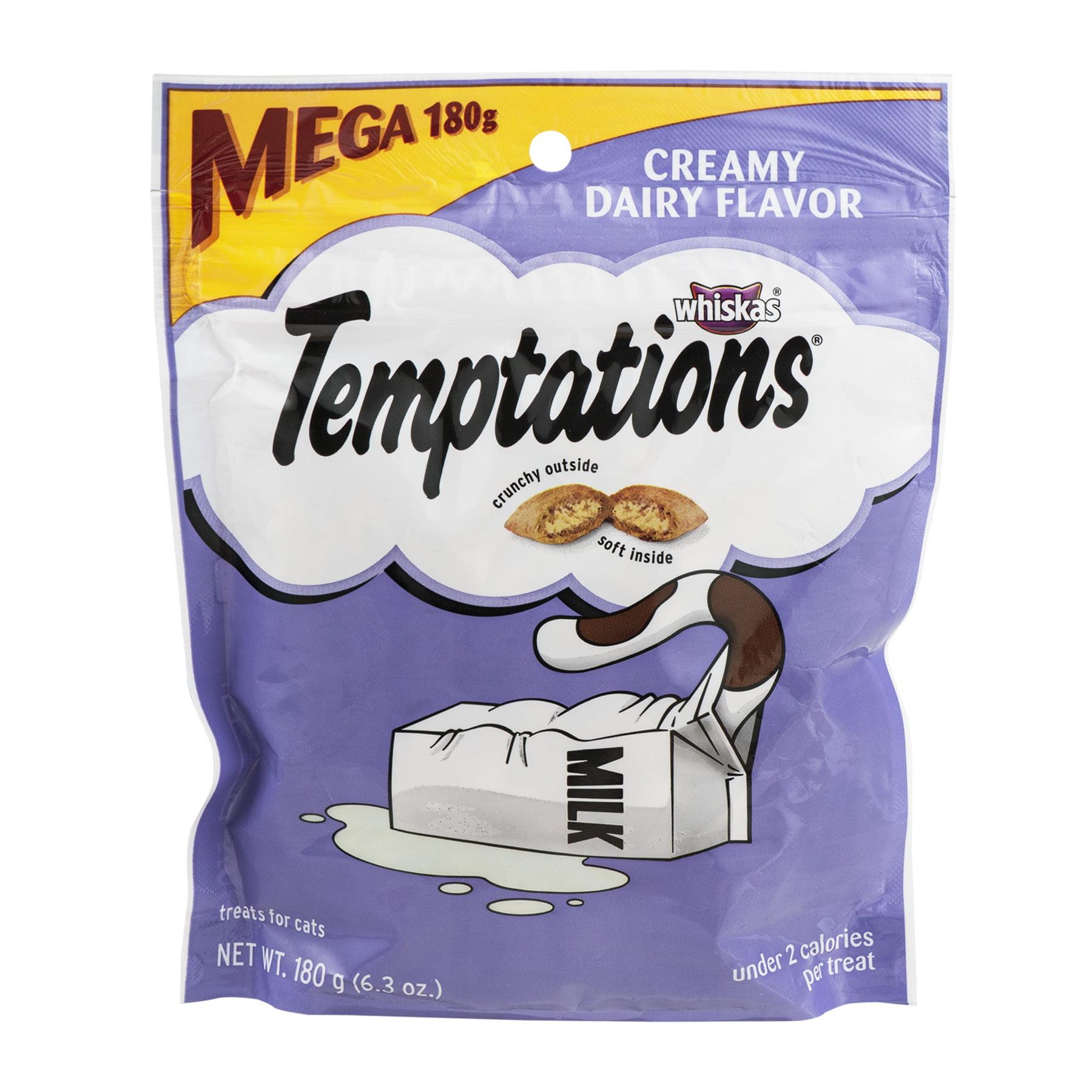 Temptations Classic Creamy Dairy Flavor Cat Treats, 6.3 Oz