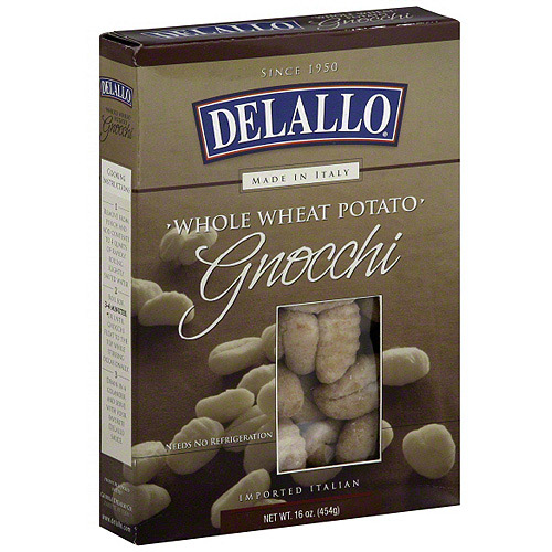 DeLallo Whole Wheat Potato Gnocchi, 16 oz (Pack of 6)