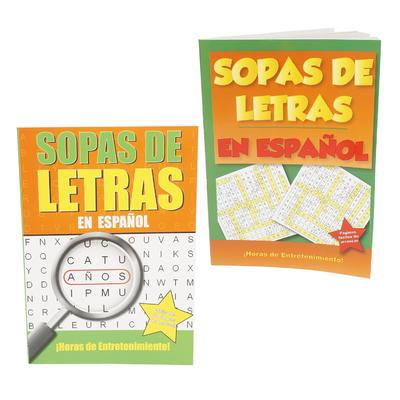 New 218241  Sopas De Letras 80 Page Crossword Puzzle In Spanis (48-Pack) Cheap Wholesale Discount Bulk Stationery Fashion Accessories](Discount Puzzles)