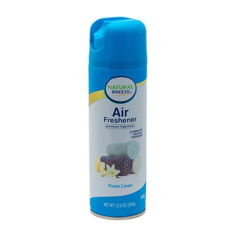 New 363275  Natural Breeze Air Freshener 12.5 Oz Fresh Linen (12-Pack) Air Freshener Cheap Wholesale Discount Bulk Cleaning Air Freshener](Cheap Linens)