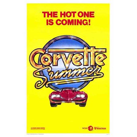 Corvette Summer POSTER Movie Mini Promo - Eugene Halloween